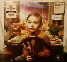 PASSION PIT KINDRED NEWBURY COMICS EXCLUSIVE CLEAR VINYL. LIMITED TO 1000 COPIES