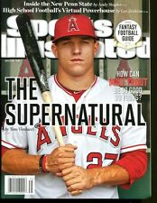 Mike Trout 2012 Sports Illustrated No Label Newsstand 8/27/12 First S.I. Cover