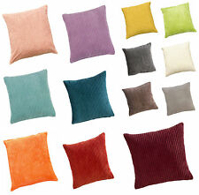 Jumbo Cord Cushion Covers 17inx17in (43cmx43cm) Approx - 13 Great Colours