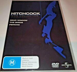 Psycho / The Birds / Rear Window DVD