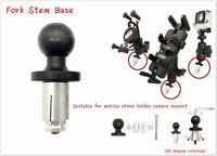 RAM Mount Motorrad Bike Mount Fork Stem Base with Ball für Handy Camera Stützen
