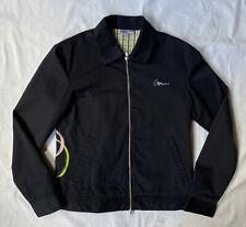 Atticus size M UK 10-12 dark blue skater jacket Blink 182 00s y2k bomber