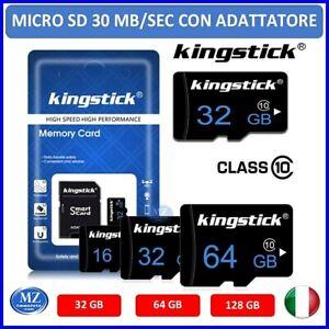 Micro SD 32 64 128 GB Classe 10 MicroSD scheda di memoria memory card flash read
