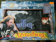 Official WWF Rumble Year WrestleMania Undertaker Lord Of Darkness Vest Gloves