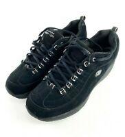 Womens Black Sketchers Shape Ups Walking Toning Shoes Size 11 (12321)
