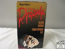 Count Dracula VHS Klaus Kinski, Christopher Lee; Jess Franco; Good