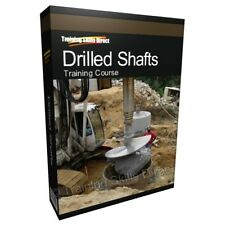 Drilled Shafts Design Engineering Training Book Manual