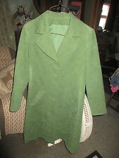 Vintage seude spring coat by vogue young fashionables size Xs -S