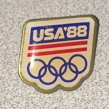 USA 88 Olympic Souvenir Pin