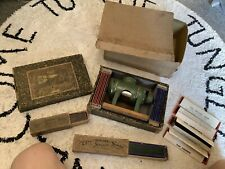 More details for antique laterna magica (magic lantern) 1879??? plus box & slides…ernest plank