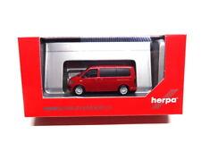 Herpa 028738-002 VOLKSWAGEN VW t6 Multivan kirschrot 1:87 NUOVO