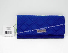 Vera Bradley Trifold Wallet COBALT - NWT Tri-fold