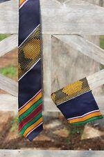 Kente Necktie and  handkerchief set - Style #4