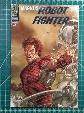 Magnus Robot Fighter #1 (2014) Dynamite Larrys Comics Gold Key Variant NM 9.6