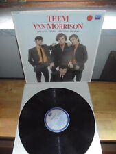 "Them Featuring Van Morrison ‎""SAME"" LP Decca ‎– TAB 45 MONO UK 1982"