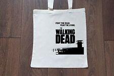 Tote Natural Cotton Fashion Shopper Bag Gym Shopping Beach - The Walking Dead