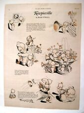 "Adorable 1926 Page Has A ""Rose O'Neill"" ""Kewpieville"" Story  ""4th July"" *"