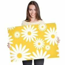 A1 - Yellow Daisy Flowers Sunny Poster 60X90cm180gsm Print #2441