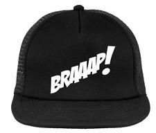 BRAAAP!  motocross cap,  trucker hat , MX snapback black