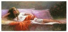Angelic is a LIMITED EDITION Giclee on Canvas by Michael Vincent w/COA