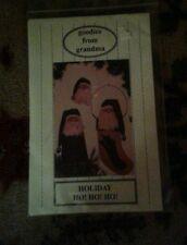 Holiday Ho Ho Ho Tree Topper Pin Stocking Pattern By Goodies From Grandma 1993