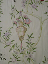 78cm Designers Guild Rosa Chinensis Cotton Curtain Fabric Remnant