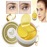 60Pcs Collagen Eye Mask Hydrogel Eye Patches Pads Dark Circles Moisturizing Care