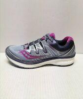 Saucony Triumph ISO 4 Running Shoes Women's Sz 8.5 M(B) Fog/Gray/Purple Sneaker