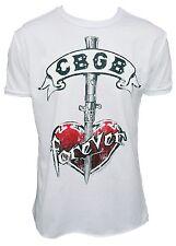 Amplified Official CBGB Nueva York Indi rock star CLUB TATTOO VINTAGE Camiseta L