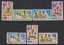Togo - 1976, Togolese Scouts / Scouting set - F/U - SG 613/19