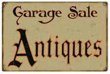 Garage Sale Antiques Vintage Looking Sign