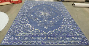 BLUE 8' X 10' Back Stain Rug Reduced Price 1172608300 GLM533B-8