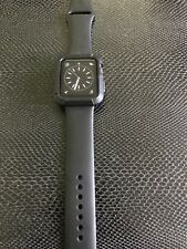 Apple Watch Series 1 42mm Aluminum Case Black Sport Band - (MP032LL/A) w/case
