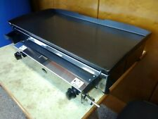 Commercial GAS GRILL - CATERING VAN -  80x40 cm - LPG Gas-Griddle - Plancha