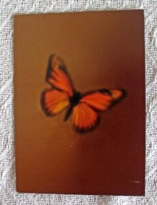 """ORIG. 1997 MARIAH CAREY """"BUTTERFLY"""" ALBUM RELEASE NYC PARTY INVITATION CARD"""