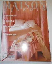 Maison & Jardin French Magazine Les Cadeaux De Mariage #322 April 1986 101414R1