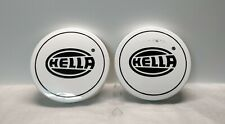 PAIR of HELLA Rallye 3003 Compact SPOT LAMP LIGHT COVERS Diameter 228mm
