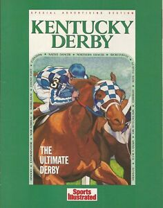"""1989 - SECRETARIAT - Sports Illustrasted Special Section Cover Photo - 8"""" x 10"""""""