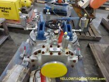 """6"""" Vee Bee Trelleborg Standard Screw Gate NB Gate Dual Strainer, UNUSED"""