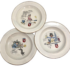 Villeroy & Boch French Enamelware Dishes with Guignol Characters