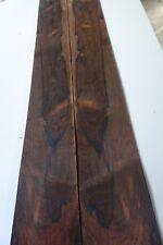 Rosewood Veneer 7 Sheets 155 cm by 14 cm  (1582)