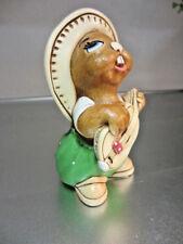 "Pendelfin Rabbit ""Rocky"" Chalkware Made in England Kh"