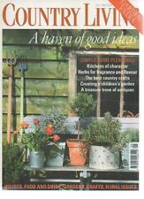 COUNTRY LIVING MAGAZINE May 1999 The Best Country Crafts AL