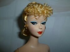 Barbie Repro / Reproduction 1959 Blonde #1 Ponytail & Stand ~ Free U S. Ship