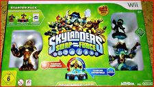 WII GAME SKYLANDERS SWAP FORCE + 6 FIGUREN + PORTAL