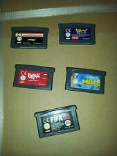 game boy advance : Titeuf, Fifa 06, the Wild, Bratz, Alex Rider Stormbreaker