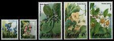 Kenia 1985 - Mi-Nr. 338-342 ** - MNH - Blumen / Flowers