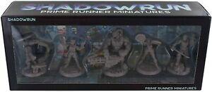 Shadowrun RPG 6th Edition: Prime Runner Miniatures
