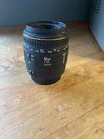 Sigma 50mm f/2.8 EX DG 1:1 Macro Lens For Canon EF DSLR T3 T5 T7 FAST SHIP *READ