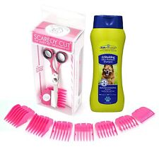 Scaredy Cut Silent Pet Clipper with FURminator deShedding Ultra Premium Shampoo